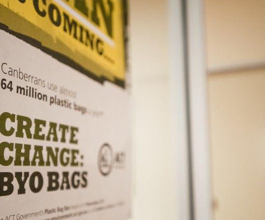 ACT Plastic bag ban campaign