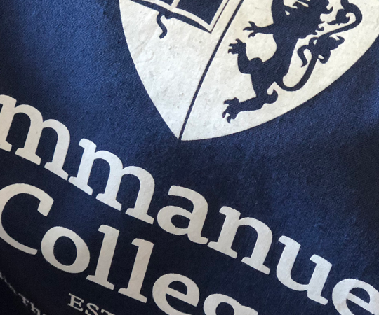 Emmanuel College rebrand wins international award